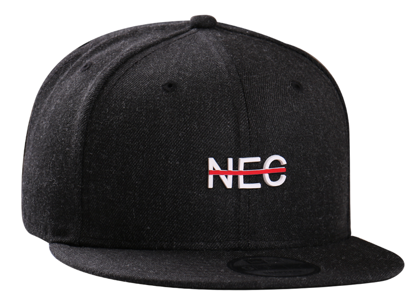 New Era Rubber NEC Strike Heather 9FIFTY Cap