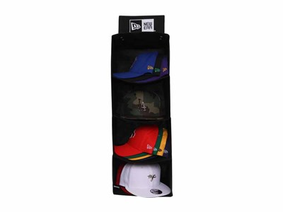 New Era Cap Black Storage System