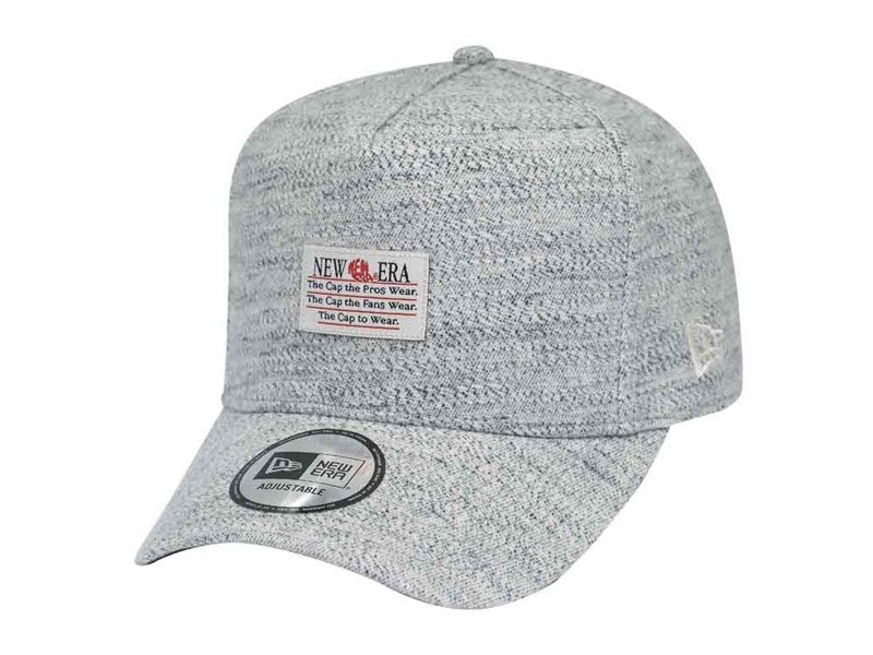 New Era Marled Cotton Gray 9FORTY D-Frame Cap