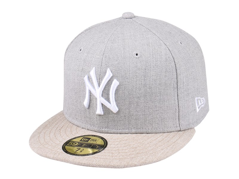 New York Yankees MLB Heather 59FIFTY Cap