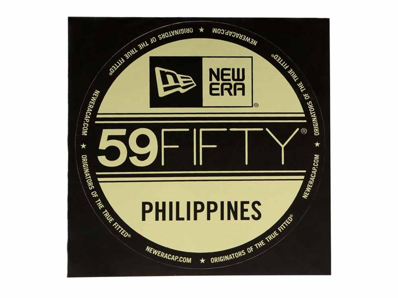 New Era Cap Philippines Brass Logo Sticker
