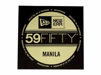 New Era Cap Manila Brass Logo Sticker