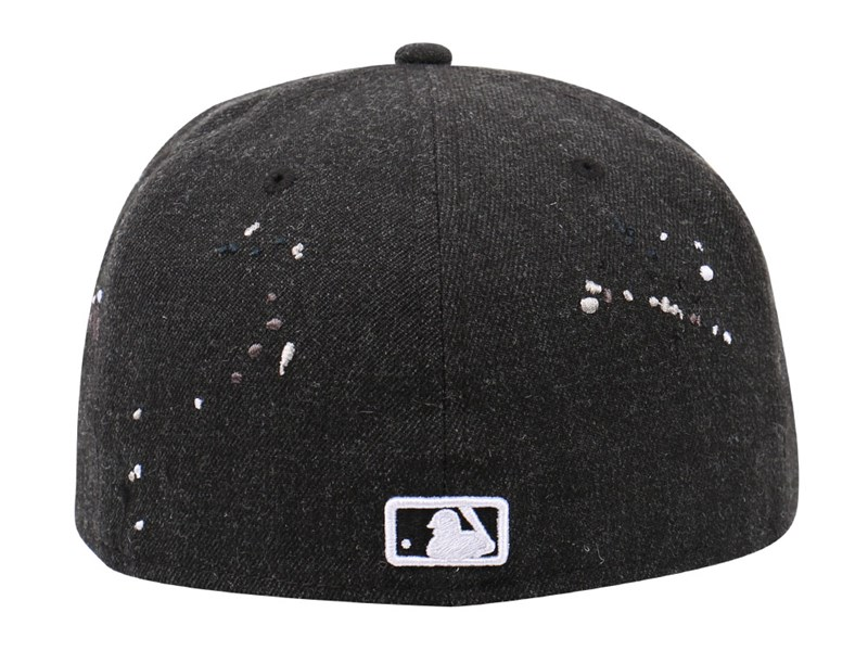 Chicago White Sox MLB Drips Heather Black 59FIFTY Cap