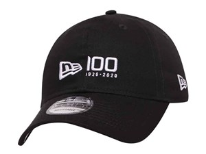 New Era 100th Logo Centennial Black 9FORTY Cap (ONLINE EXCLUSIVE)