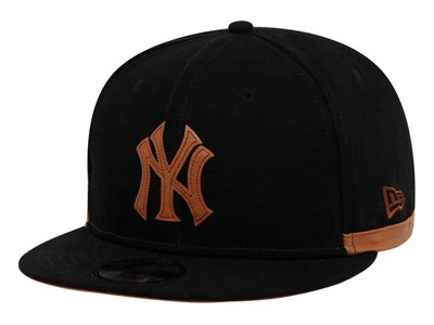 New York Yankees Cooperstown MLB Duck Canvas Black 9FIFTY Cap