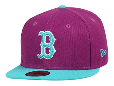 Boston Red Sox MLB Grape 59FIFTY Cap