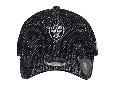 Oakland Raiders NFL Boost Redux Black White 9TWENTY Cap