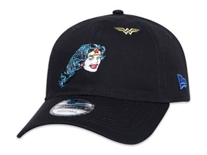 Justice League Wonder Woman DC Black 9TWENTY Cap