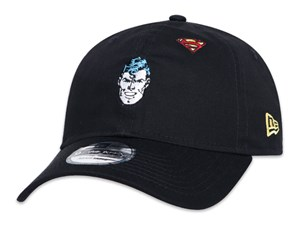 Justice League Superman DC Black 9TWENTY Cap