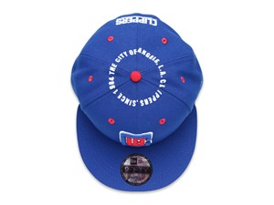 Los Angeles Clippers NBA Circle Teams Light Royal 9FIFTY Cap