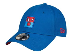 Spiderman Marvel Entertainment Elements Snap Patch Blue 9FORTY Cap