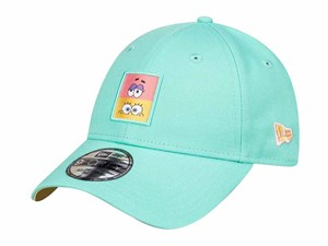 Spongebob Nickelodeon Entertainment Elements Snap Patch Blue Tint 9FORTY Cap