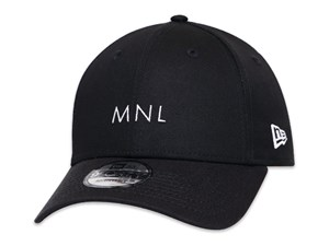 New Era Manila City Essential Black 9FORTY Cap