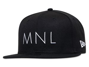 New Era Manila City Essential Black 9FIFTY Cap