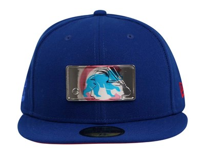 Chicago Cubs MLB Mixed Metal Blue 59FIFTY Cap