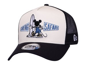Mickey Mouse Disney Surf Ivory Navy Trucker 9FORTY K-Frame Cap
