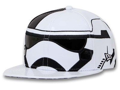Storm Trooper Star Wars The Last Jedi White 59FIFTY Cap