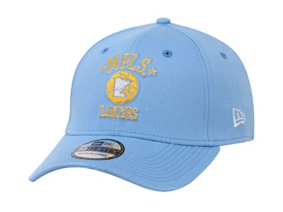 Los Angeles Lakers NBA Hardwood Classic Collection Nights Light Blue 39THIRTY Cap