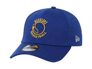 Golden State Warriors NBA Hardwood Classic Collection Nights Blue 39THIRTY Cap