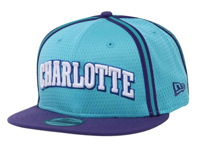 Charlotte Hornets NBA Hardwood Classic Collection Nights Blue 9FIFTY Cap