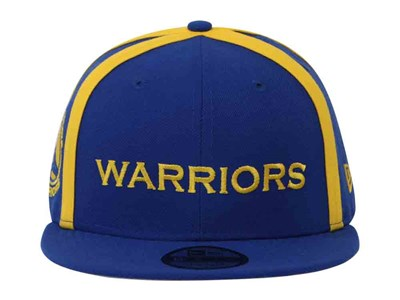 Golden State Warriors NBA Y2K X Seam Yellow Blue 9FIFTY Cap