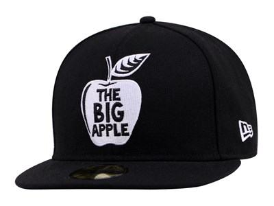 New Era Big Apple Black 59FIFTY Cap (ONLINE EXCLUSIVE)