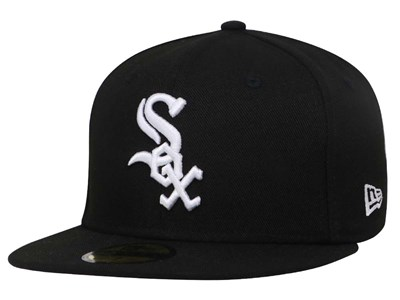 Chicago White Sox MLB AC Black 59FIFTY Cap (ESSENTIAL)