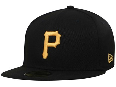 Pittsburgh Pirates MLB AC Black 59FIFTY Cap (ESSENTIAL) (LAST STOCK)
