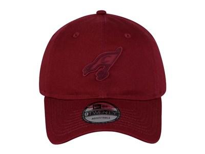 ... Cleveland Cavaliers Rubber Logo NBA Cardinal 2 9TWENTY Cap 4cfd1cf6fe5
