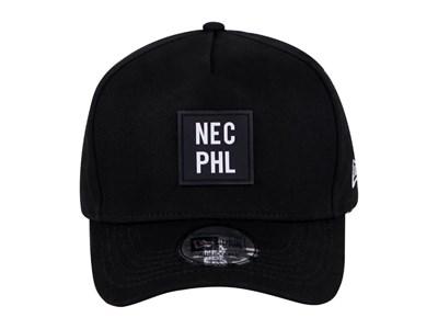 76cf4914b16bf ... New Era NEC PHL Black 9FORTY D-Frame Cap (ESSENTIAL)