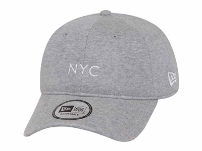 New Era NYC Sweat Gray 9THIRTY Cap