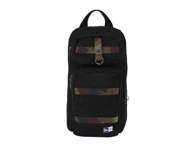 New Era Slim Pack Duck Canvas Black Backpack Bag