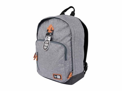 New Era Cram Pack Heather Gray Backpack Bag