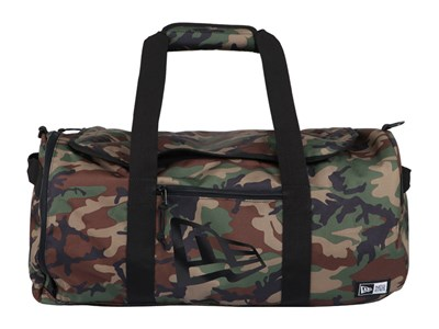New Era 600D Woodland Camo Duffel Bag