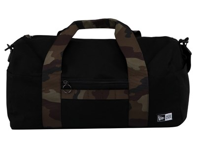 New Era Small Camo Black Duck Canvas Duffel Bag