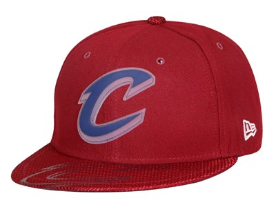 Cleveland Cavaliers NBA All Star 2018 On Court Maroon 59FIFTY Cap
