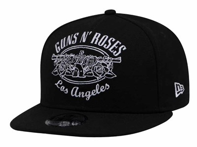 Guns N' Roses Los Angeles Logo Black 9FIFTY Cap