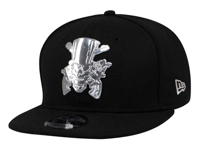 Guns N' Roses Silver Logo Black 9FIFTY Cap