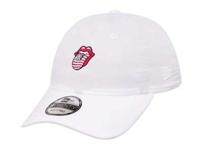 The Rolling Stones Logo White 9TWENTY Cap