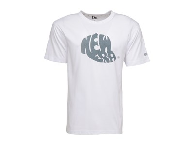 New Era Thermo Sensitive Blue Logo White Shirt