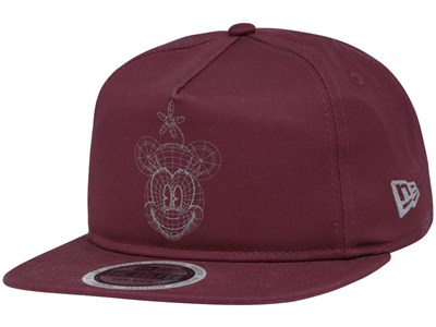 Minnie Mouse Disney Head Sketch Maroon The Golfer 9FIFTY Cap