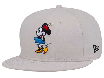 Minnie Mouse Disney Standing White 59FIFTY Cap