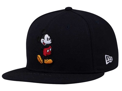 Mickey Mouse Disney Standing Navy 59FIFTY Cap