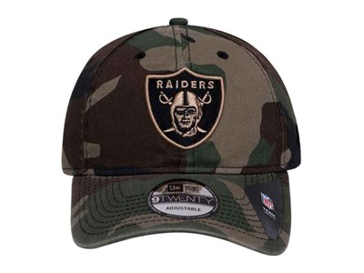 Oakland Raiders NFL Core Classic Essential Woodland Camo 9TWENTY Cap