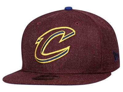 Cleveland Cavaliers NBA Heather Hype Snap Maroon 9FIFTY Cap