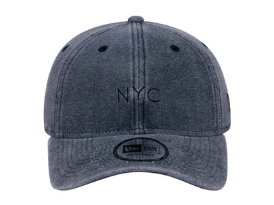 New Era NYC Sweat Italian Wash Navy 9THIRTY Cap