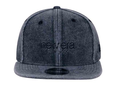 New Era New York Sweat Italian Wash Navy 9FIFTY Cap