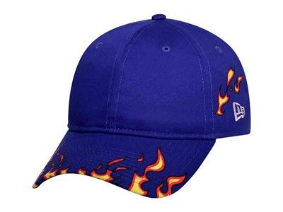 New Era Fire Pattern Royal 9THIRTY Cap