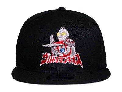 Ultraman with Logo Black 9FIFTY Cap