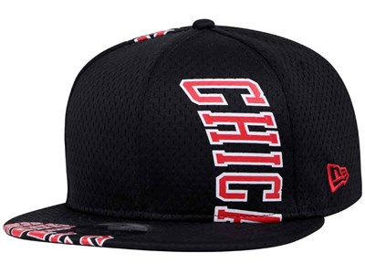 Chicago Bulls NBA Cut Team Logo Black 9FIFTY Cap